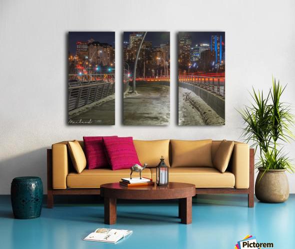 Walterdale_Bridge_NIK9912 Split Canvas print