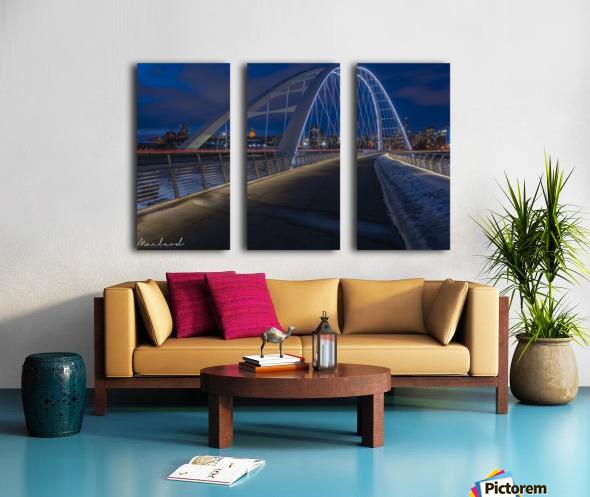 Walterdale_Bridge_NIK9895 Split Canvas print