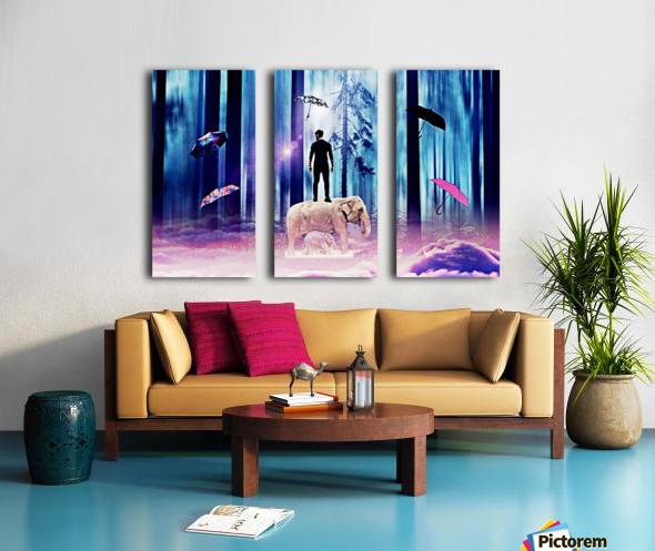 20 Split Canvas print