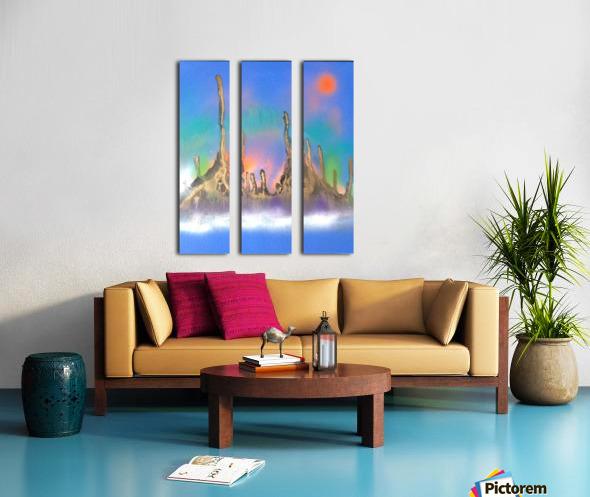 safty Split Canvas print