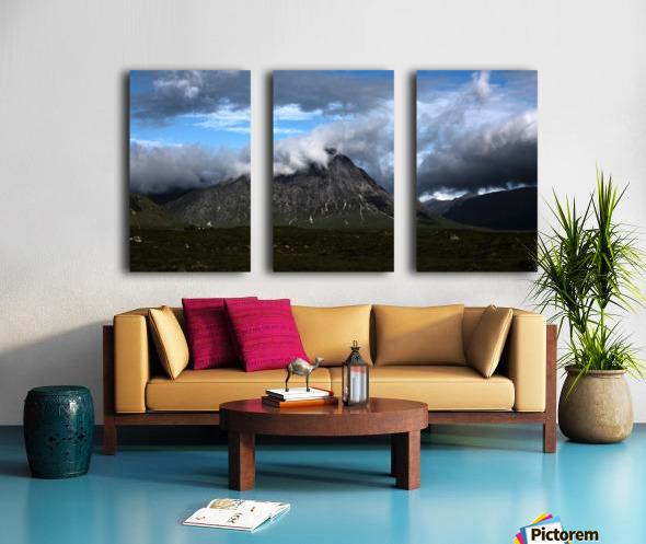 Glen Etive  Split Canvas print