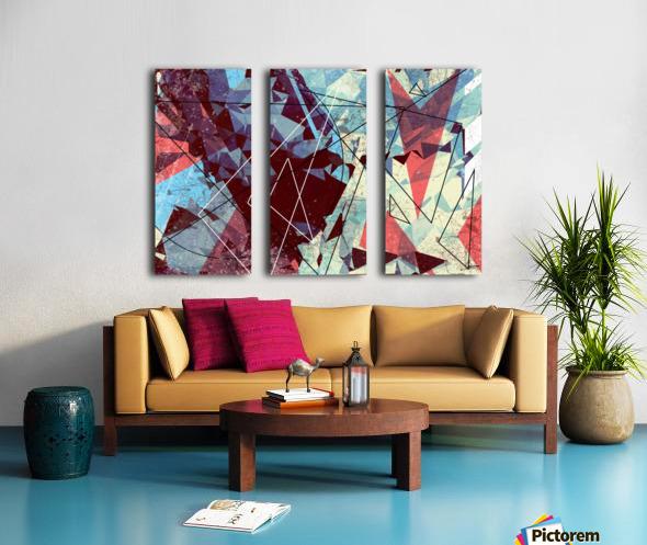 SAK29 Split Canvas print