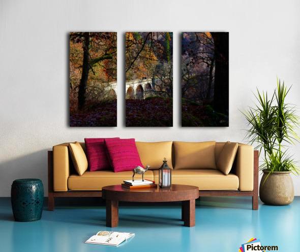Viaduct River Gary Split Canvas print