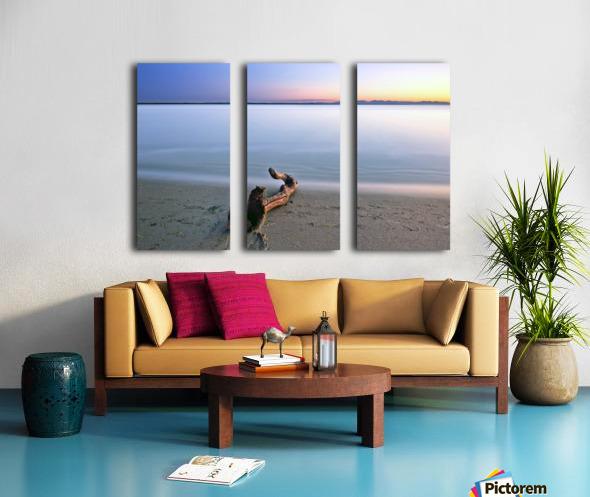 Serene Sunset Split Canvas print