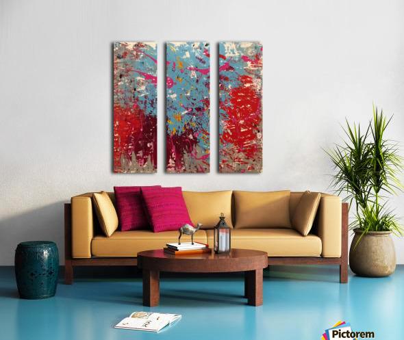 CHAOS  Split Canvas print