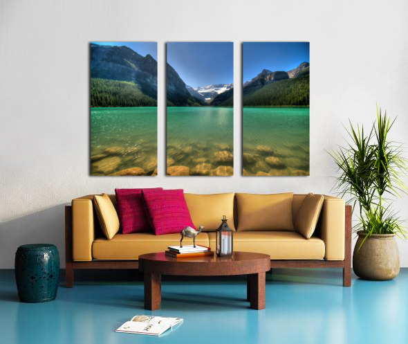 Banff Split Canvas print
