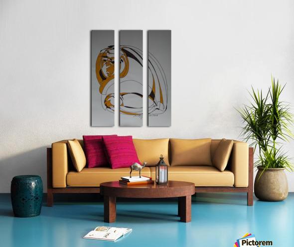 13 C Split Canvas print
