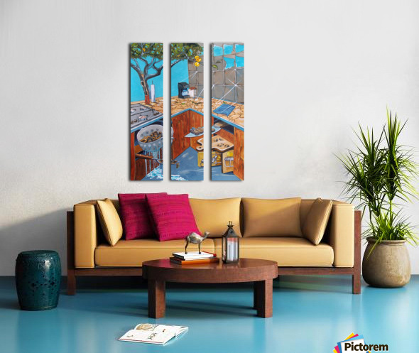 visions lurking in common places Split Canvas print