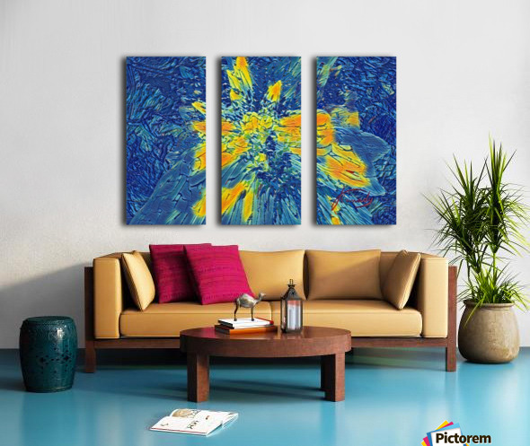 7D86986B A3D9 4AC5 A8D4 A986900E8D48 Split Canvas print