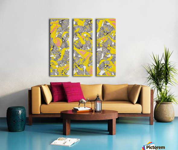 butterfly collage 2 med Split Canvas print