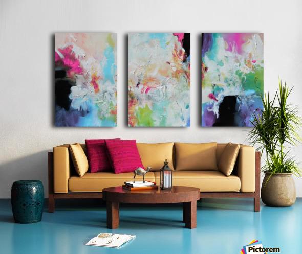 Abstract 39 Split Canvas print