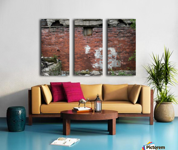 Another Brick in the Wall Split Canvas print