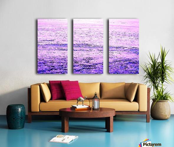 ICE 3 PINK : PURPLE Split Canvas print