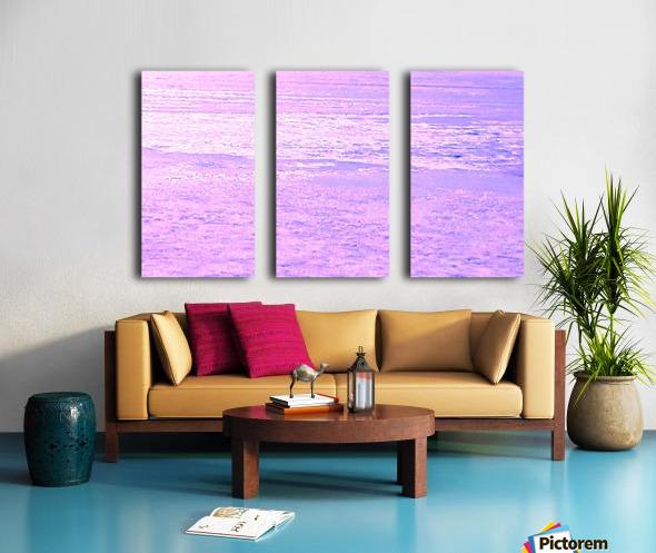 ICE 2 PINK Split Canvas print