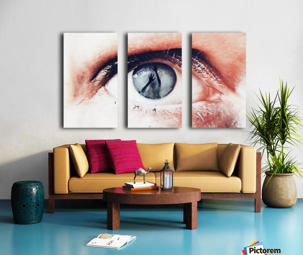 Trapped Split Canvas print