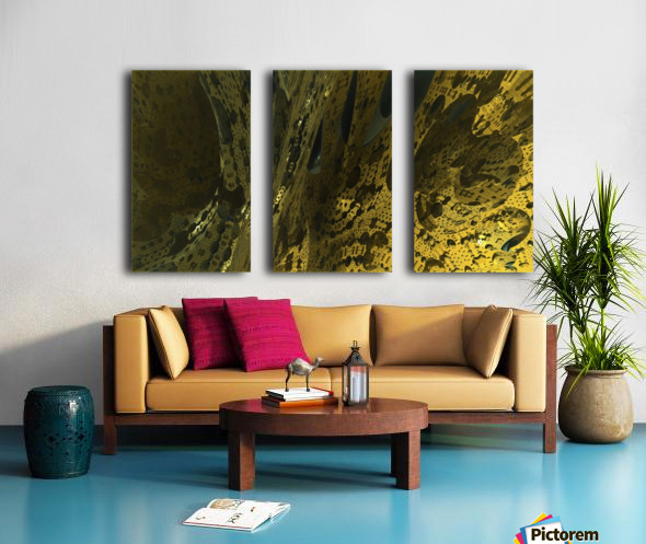 New World Split Canvas print