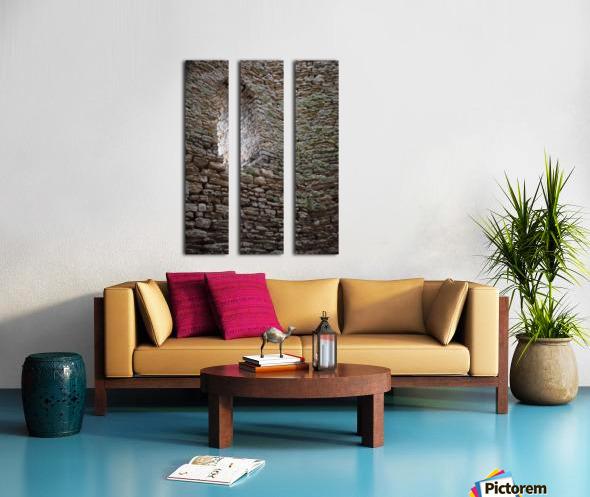 Castle Wall Split Canvas print