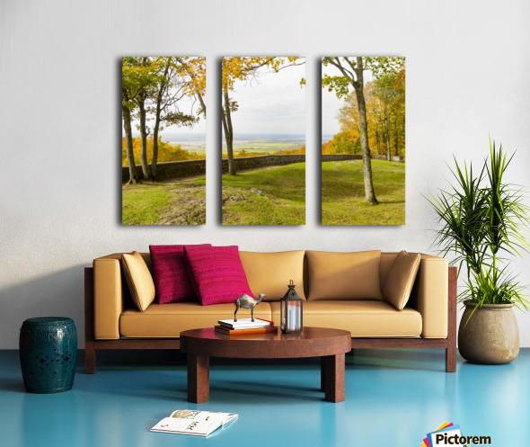 View of Ottawa Valley in Autumn 33 Split Canvas print