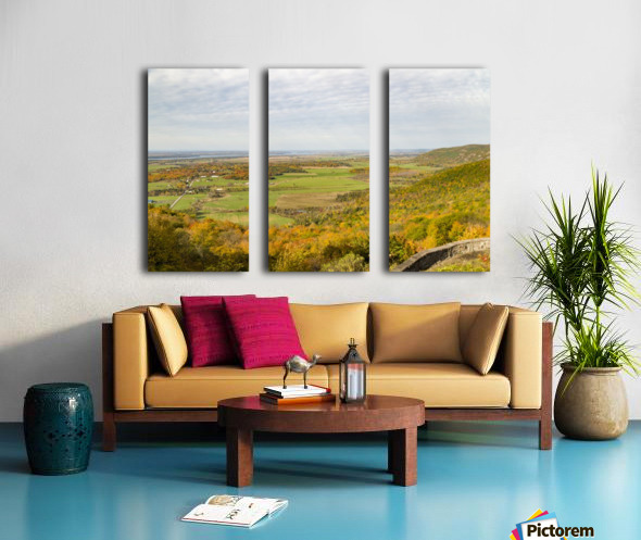 View of Ottawa Valley in Autumn 9 Split Canvas print