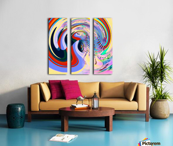 1970 Split Canvas print