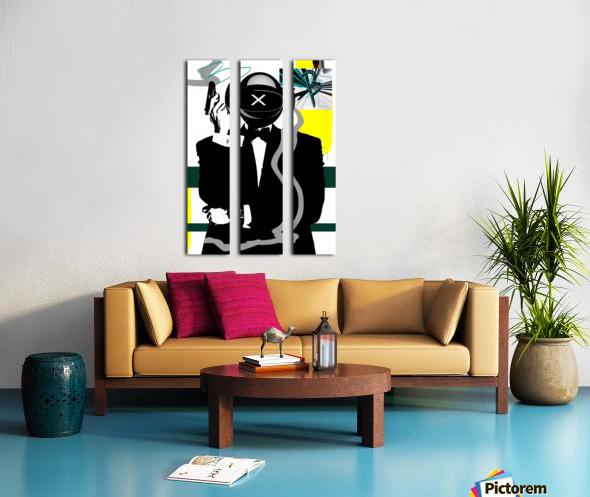 Buggatti Institucional Split Canvas print