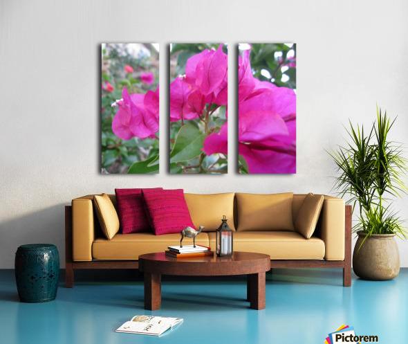 Flowers (47) Split Canvas print