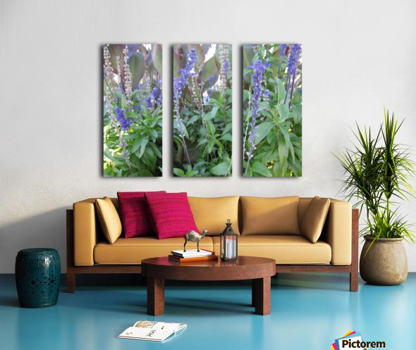 Flowers (49) Split Canvas print