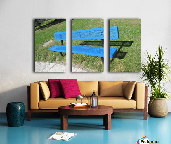 Bench (19) Split Canvas print