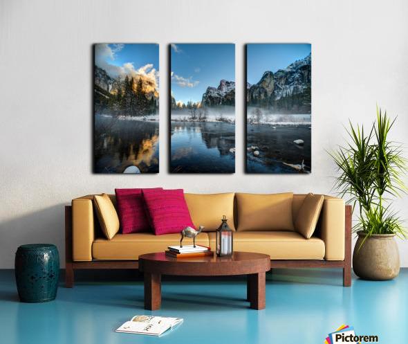 Yosemite Split Canvas print