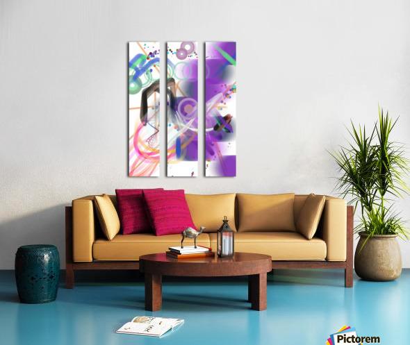New Popular Beautiful Patterns Cool Design Best Abstract Art (9)_1557269366.5 Split Canvas print