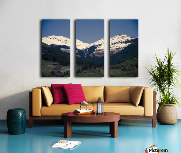 Snowy Alps Split Canvas print