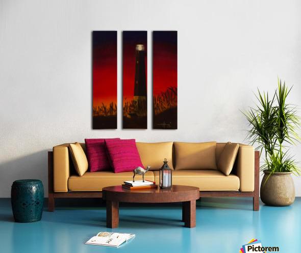 Light Too Bright Split Canvas print