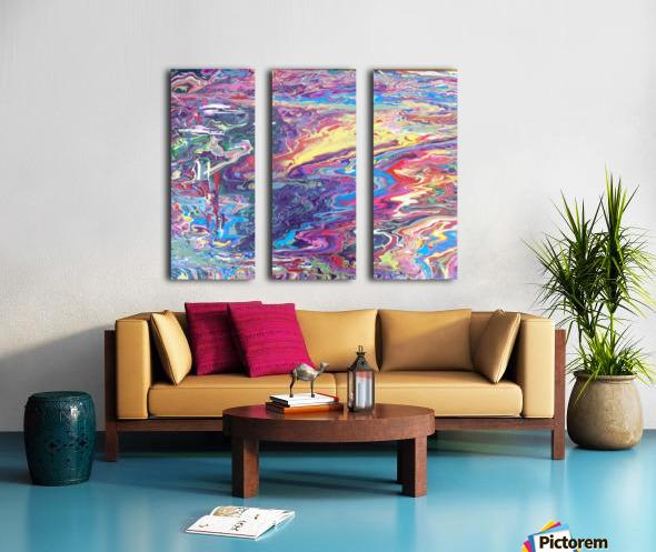 Hazard Waste Poole  Split Canvas print