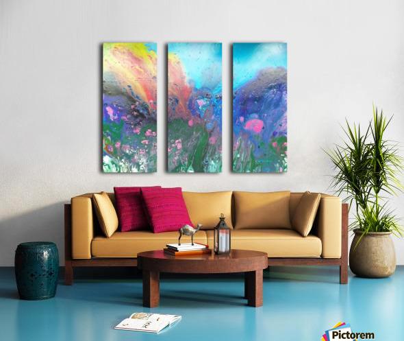 Magma  Split Canvas print