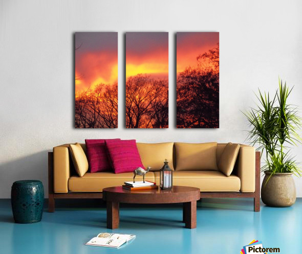 Sunset 1 Split Canvas print