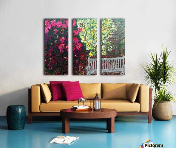 Glendale Gardens Victoria BC-Rodos Split Canvas print