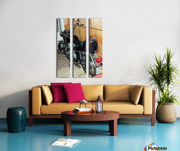 Triumph Tiger Split Canvas print