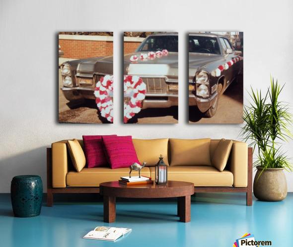 Cadillac 1968 Split Canvas print
