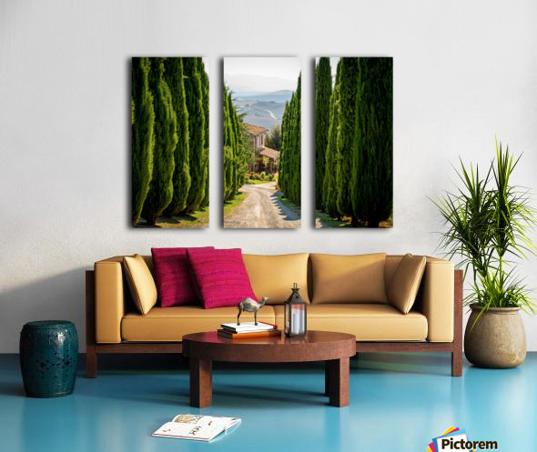 Tuscany House Split Canvas print