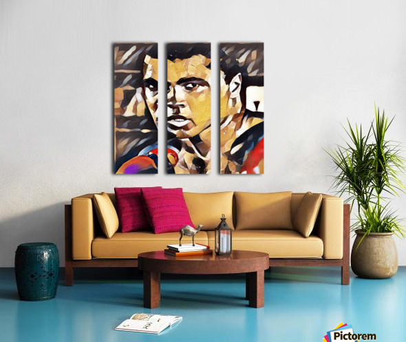 The Greatest Split Canvas print