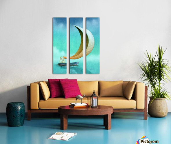 wind Split Canvas print