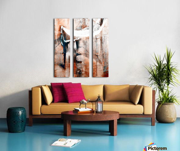 Dancer in the forest Split Canvas print