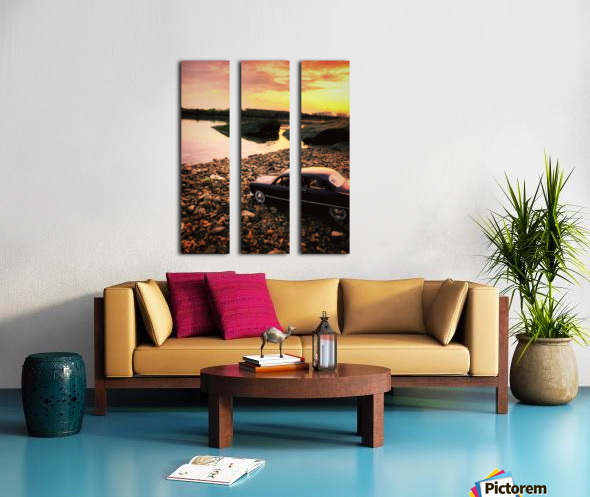 By the rivers of.... Split Canvas print