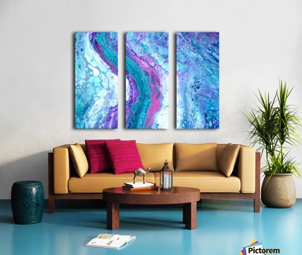 Thira Split Canvas print