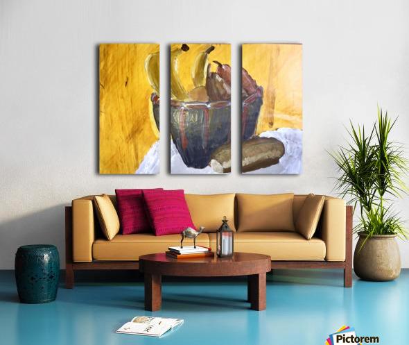 Bananas Split Canvas print