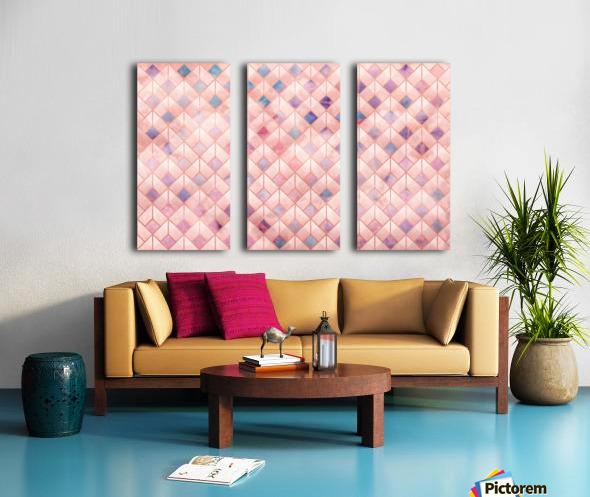 Geometric XXXXVII Split Canvas print