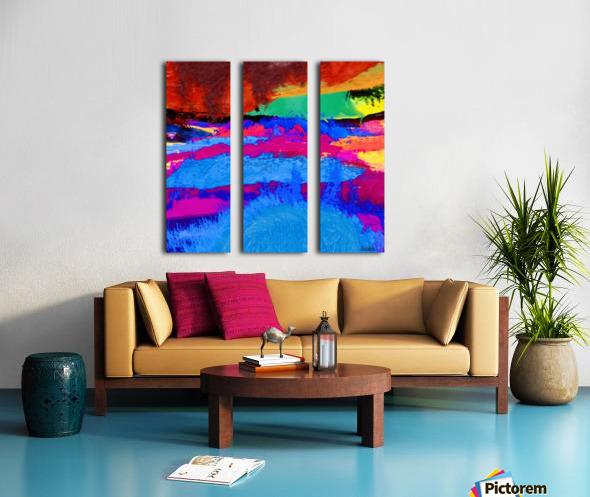 27C90667 5345 4823 A96D EF0FAC0C9A63 Split Canvas print