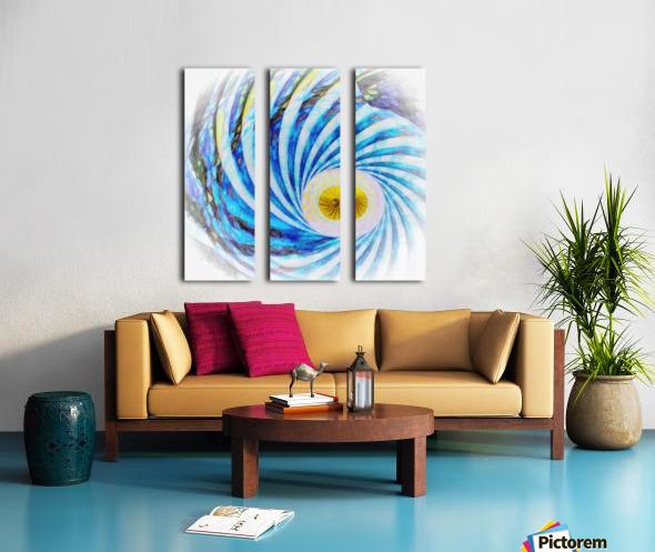 Composition Oraculaire Split Canvas print