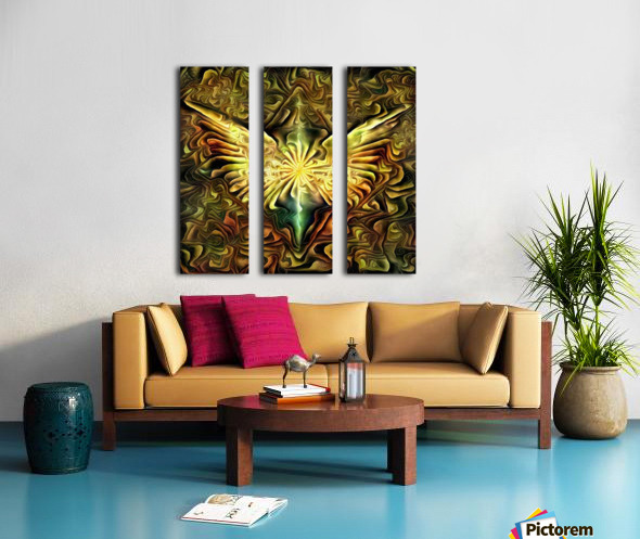 Shining Wings Split Canvas print