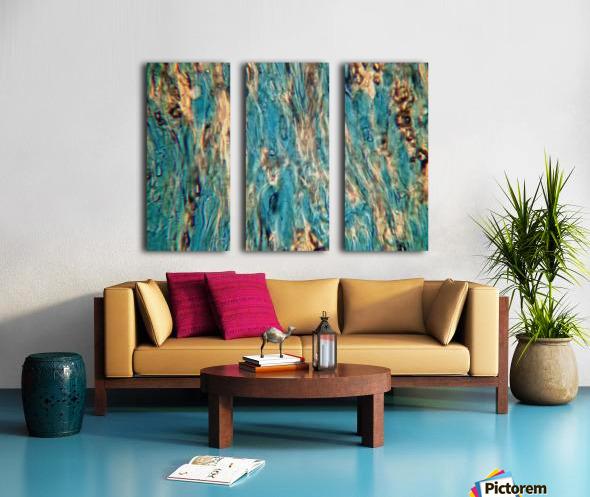 Primordial Sea Split Canvas print